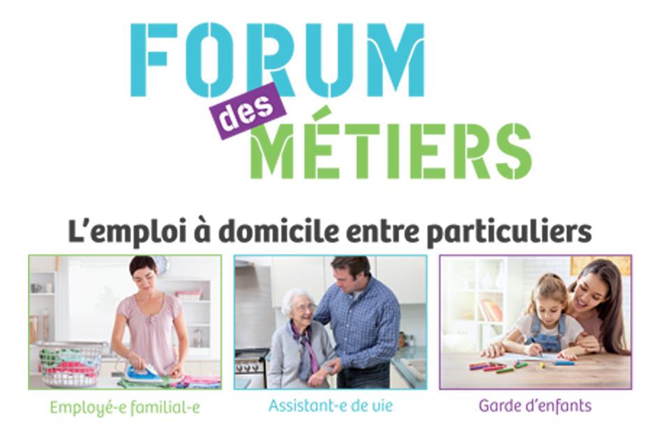 forum des m u00e9tiers de la famille et du domicile le 9